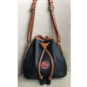 Dooney & Bourke Vintage Drawstring Bucket Handbag